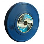 uesaka weightlifting competition bumper weight plate 20kg