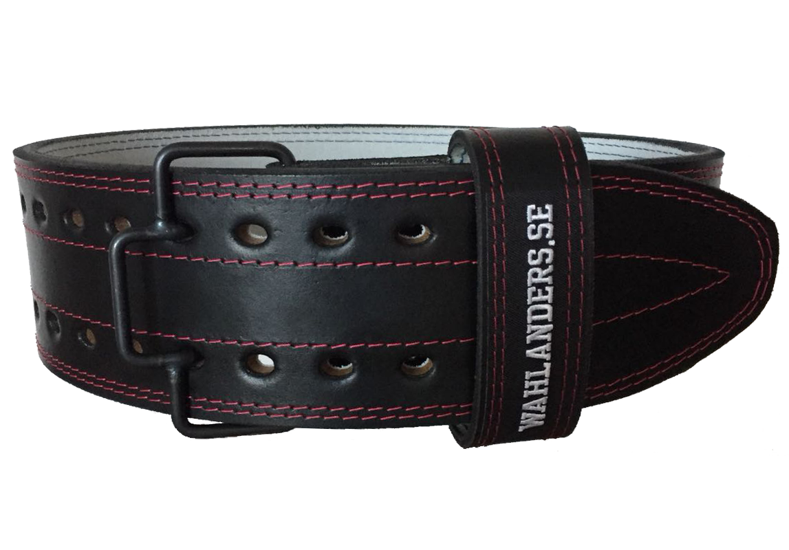 Wahlanders powerlifting belt zwart